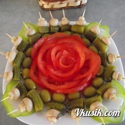 салат с курицей и яблоками рецепт с фото